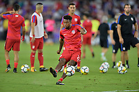Orlando, FL - Friday Oct. 06, 2017: Kellyn Acosta during a 2018 FIFA World Cup Qualifier between the men's national teams of the United States (USA) and Panama (PAN) at Orlando City Stadium.