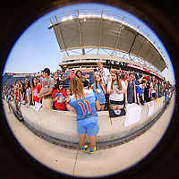 Bridgeview, IL - Sunday September 03, 2017: Sofia Huerta, fans during a regular season National Women's Soccer League (NWSL) match between the Chicago Red Stars and the North Carolina Courage at Toyota Park. The Red Stars won 2-1.
