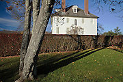 Hamilton House in South Berwick, Maine US Aduring the autumn months. This house is a National Historic Landmark.