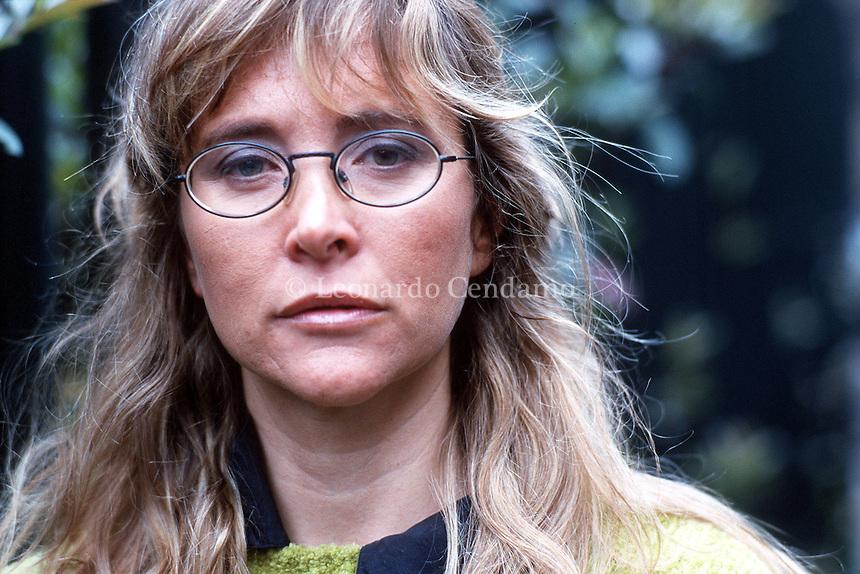 2000: ARIANNA DAGNINO WRITER © Leonardo Cendamo