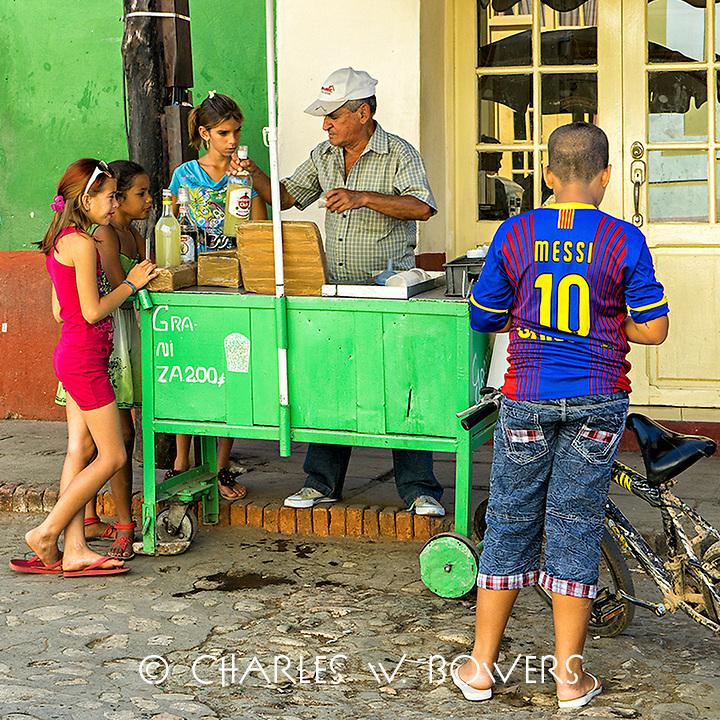 Faces Of Cuba - Nothing beats a good snow cone.<br />