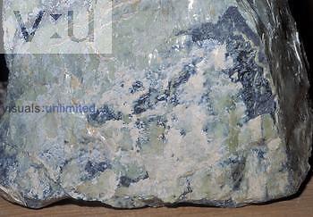 Serpentine specimen, a metamorphic rock, California, USA.