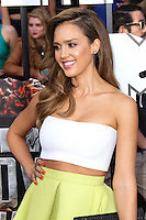LOS ANGELES, CA, USA - APRIL 13: Jessica Alba at the 2014 MTV Movie Awards held at Nokia Theatre L.A. Live on April 13, 2014 in Los Angeles, California, United States. (Photo by Xavier Collin/Celebrity Monitor)