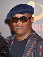 HOLLYWOOD, CA - JUNE 05: Samuel L. Jackson attends the premiere of Disney and Pixar's 'Incredibles 2' at the El Capitan Theatre on June 5, 2018 in Los Angeles, California.<br /> CAP/ROT/TM<br /> &copy;TM/ROT/Capital Pictures