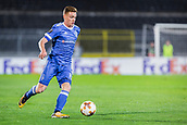 28th September 2017, Partizan Stadium, Belgrade, Serbia; UEFA Europa League group stage, Partizan versus Dynamo Kiev; Midfielder Viktor Tsygankov of Dynamo Kiev drives forward on the ball