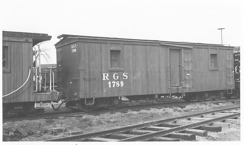 RGS outfit bunk car #01789 at Colorado Railroad Museum.<br /> RGS  Golden, CO  Taken by Maxwell, John W. - 4/9/1961