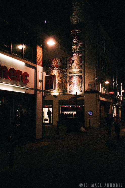 Carnaby Street Fresco at night