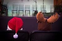 San Juan del R&iacute;o, Qro. 26 diciembre 2017.- El festival de Navidad 2017, organizado por el Instituto de Cultura, Turismo y Juventud tuvo una participaci&oacute;n de aproximadamente 10 mil asistentes entre el 15 y 23 de diciembre, en el cual se presentaron diversos grupos de teatro, m&uacute;sica, danza, entre otros.<br /> <br /> Dos peque&ntilde;os disfrazados esperan a que inicie un concurso de disfraces y el concierto navide&ntilde;o de una artista local.