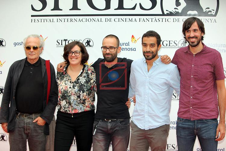 49 Festival Internacional de Cinema Fantastic de Catalunya-Sitges 2016.<br /> Team El Cor del Pi Negre.