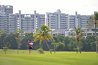 SINGAPORE - MARCH 02: Nelly Korda of USA on the 2nd fairway during the third round of the HSBC Women's World Championship 2019 at Sentosa Golf Club - Tanjong Course, Singapore on March 02, 2019.<br /> .<br /> .<br /> .<br /> (Photo by: Naratip Golf Srisupab/SEALs Sports Images)<br /> .<br /> Any image use must include a mandatory credit line adjacent to the content which should read: Naratip Golf Srisupab/SEALs Sports Images