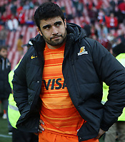 Nahuel Tetaz Chaparroof the Jaguares after the Super Rugby quarter-final match between the Emirates Lions and the Jaguares at the Emirates Airlines Park Stadium,Johannesburg, South Africa on Saturday, 21 July 2018. Photo: Steve Haag / stevehaagsports.com