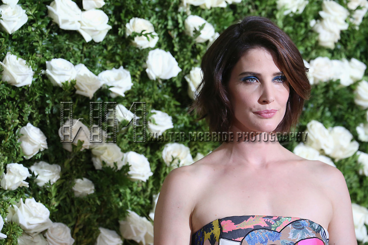 NEW YORK, NY - JUNE 11:  Cobie Smulders attends the 71st Annual Tony Awards at Radio City Music Hall on June 11, 2017 in New York City.  (Photo by Walter McBride/WireImage)