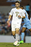 12 September 2014: Pitt's Brandon Kolczynski. The University of North Carolina Tar Heels hosted the Pittsburgh University Panthers at Fetzer Field in Chapel Hill, NC in a 2014 NCAA Division I Men's Soccer match. North Carolina won the game 3-0.