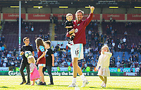 Burnley's Peter Crouch waves to fans after the match<br /> <br /> Photographer Alex Dodd/CameraSport<br /> <br /> The Premier League - Burnley v Arsenal - Sunday 12th May 2019 - Turf Moor - Burnley<br /> <br /> World Copyright &copy; 2019 CameraSport. All rights reserved. 43 Linden Ave. Countesthorpe. Leicester. England. LE8 5PG - Tel: +44 (0) 116 277 4147 - admin@camerasport.com - www.camerasport.com