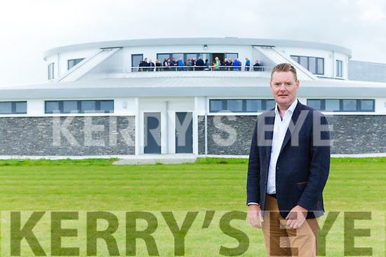 County Board Chairman Tim Murphy at  Kerry's Centre of Excellence in Fossa on Friday