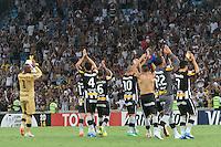 RIO DE JANEIRO, RJ, 05.02.2014 -Jogadores do Botafogo comemoram a virória que garante o time na fase de grupos da Libertadores contra Deportivo Quito no Estádio Mário Filho, o Maracanã. (Foto. Néstor J. Beremblum / Brazil Photo Press)