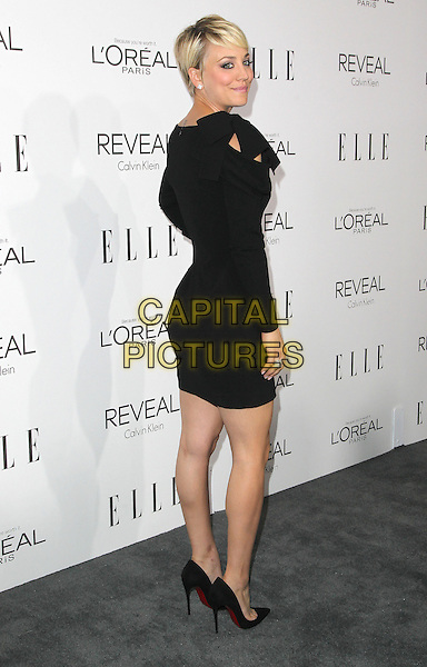 20 October  2014 - Beverly Hills, California - Kaley Cuoco. 2014 ELLE Women In Hollywood Awards held at the Four Seasons Hotel.  <br /> CAP/ADM/FS<br /> &copy;Faye Sadou/AdMedia/Capital Pictures