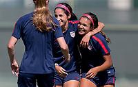 Carson, CA -  Thursday May 17, 2018: U.S. Women's National teams  U-20 vs U-23 during a scrimmage game at StubHub Center.