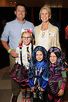 Jan and Robby Going with Blair,9, Kate,6, and Kara,6, at the M.D. Anderson Halloween party at The Galleria Sunday Oct 25, 2015.(Dave Rossman photo)