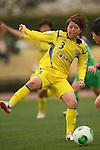 Arisa Takeda (Charme), .MARCH 23, 2013 - Football /Soccer : .Plenus Nadeshiko League 2013 .between NTV Beleza 2-0 FC Kibikokusaidaigaku Charme .at Ajinomoto Stadium West Field, Tokyo, Japan. .(Photo by YUTAKA/AFLO SPORT) [1040]