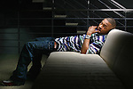 NEW YORK -- MARCH 27, 2006:  Rapper T.I. poses for a portrait at Atlantic Records in March 27, 2006 in New York City.  (PHOTOGRAPH BY MICHAEL NAGLE)