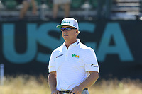 Charley Hoffman (USA) on the 16th green during Thursday's Round 1 of the 118th U.S. Open Championship 2018, held at Shinnecock Hills Club, Southampton, New Jersey, USA. 14th June 2018.<br /> Picture: Eoin Clarke | Golffile<br /> <br /> <br /> All photos usage must carry mandatory copyright credit (&copy; Golffile | Eoin Clarke)