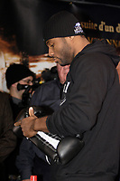 Montreal (QC) CANADA- Dec 10 2009- Official Weighting before Dec 11 Fight :Jean Pascal