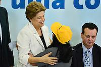 BRASÍLIA, DF, 30.03.2016 – AGENDA-DILMA – Martina Costa, Presidente Nacional de Movimentos Sociais, durante Cerimônia de lançamento do Programa Minha Casa Minha Vida 3, na manhã desta quarta-feira, 30, no Palácio do Planalto em Brasília. (Foto: Ricardo Botelho/Brazil Photo Press)