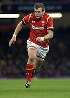 Dan Biggar of Wales during the Wales v France, 2016 RBS 6 Nations Championship, at the Principality Stadium, Cardiff, Wales, UK