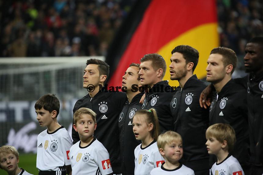 Mesut Özil, Mario Götze, Toni Kroos, Jonas Hector, Shkodran Mustafi (D) - Deutschland vs. Italien, Allianz Arena München