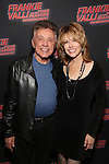 Frankie Valli and Jackie Jacobs attend a backstage reception for 'Frankie Valli And The Four Seasons' Broadway Opening Night at Lunt-Fontanne Theatre on October 21, 2016 in New York City.