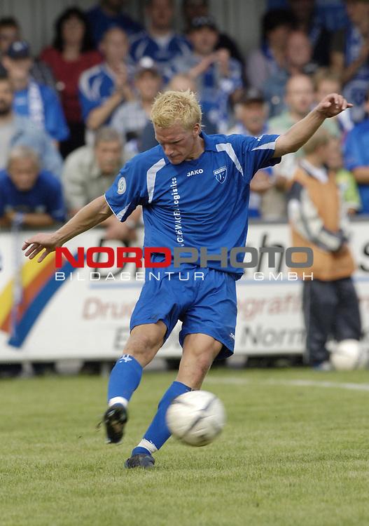 RLN 2006/2007 - 4.Spieltag Hinrunde BSV Kickers Emden - Hertha BSC II<br /> Sebastian Gundelach<br /> <br /> Foto &copy; nordphoto