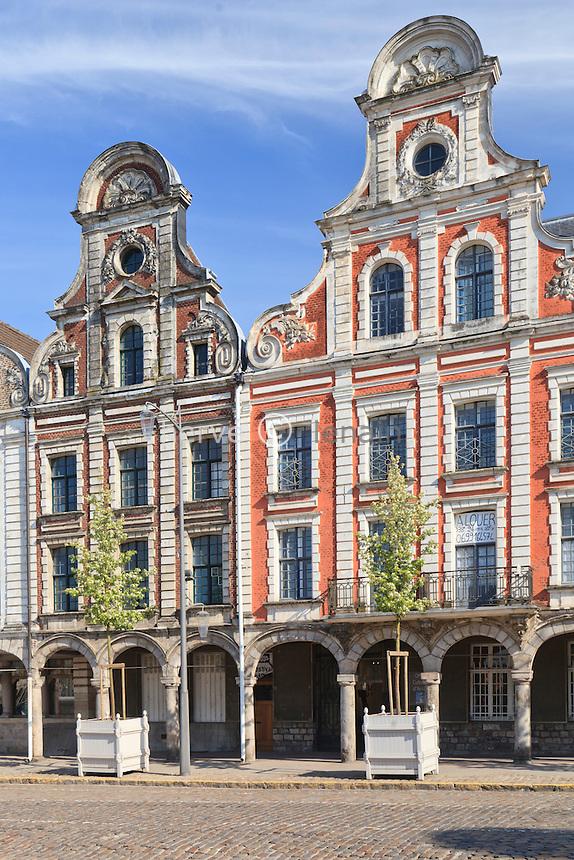 France, Pas-de-Calais (62), Arras, la Grand'Place // France, Pas de Calais, Arras, the Grand Place