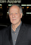 "HOLLYWOOD, CA. - November 04: Director Werner Herzog arrives at the AFI Fest Screening Of ""Bad Lieutenant: Port Of Call New Orleans"" Grauman's Chinese Theatre on November 4, 2009 in Hollywood, California."