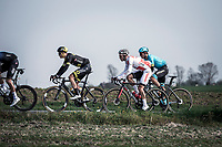 Niki Terpstra (NED/Direct Energie)<br /> <br /> <br /> 82nd Gent – Wevelgem in Flanders Fields 2019 (1.UWT)<br /> Deinze – Wevelgem: 251,5km<br /> ©kramon