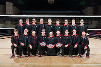 Stanford, Ca - Wednesday, January 16, 2013: 2013 Men's Volleyball portraits and team photo.