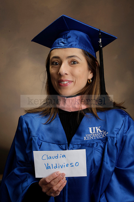 Valdivieso, Claudia photographed during the Feb/Mar, 2013, Grad Salute in Lexington, Ky.