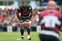 Graham Kitchener of Leicester Tigers looks dejected. Gallagher Premiership match, between Leicester Tigers and Bath Rugby on May 18, 2019 at Welford Road in Leicester, England. Photo by: Patrick Khachfe / Onside Images