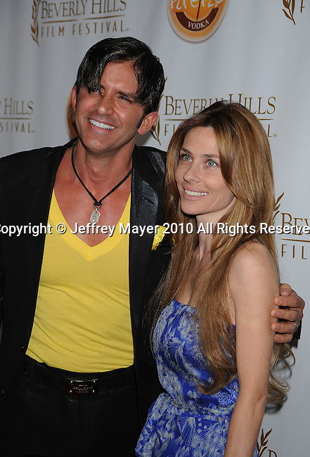 BEVERLY HILLS, CA. - April 14: Dr. Robert Rey and wife Hayley Rey arrive at the 10th Annual Beverly Hills Film Festival Opening Night at the Clarity Theater on April 14, 2010 in Beverly Hills, California.