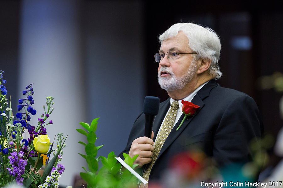 TALLAHASSEE, FLA. 3/7/17-Sen. Jack Latvala, R-Clearwater, speaks during opening day of the legislative session at the Capitol in Tallahassee.<br /> <br /> COLIN HACKLEY PHOTO