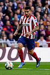 Angel Martin Correa of Atletico de Madrid during La Liga match between Real Madrid and Atletico de Madrid at Santiago Bernabeu Stadium in Madrid, Spain. February 01, 2020. (ALTERPHOTOS/A. Perez Meca)