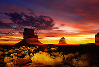 Monument Valley, Navajo Tripal Park, Arizona, USA