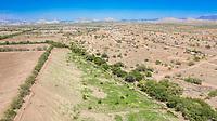 Aerial view of the ejido la Yesca. (photo: Marisol Soto / nortephoto)<br /> ..<br /> Vista aerea del ejido la Yesca. (photo: Marisol Soto/nortephoto)
