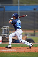 Tampa Bay Rays Brett Sullivan (72) during a minor league Spring Training game against the Boston Red Sox on March 23, 2016 at Charlotte Sports Park in Port Charlotte, Florida.  (Mike Janes/Four Seam Images)