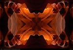 Fractal X, Fractal Composite, Upper Antelope Canyon, Tse-Bighanilini, Slot Canyon, Lake Powell Navajo Tribal Park, Page, Arizona