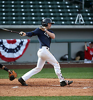 Austin Wells plays in the MLB / USA Baseball Prospect Development Pipeline game at Sloan Park on February 5, 2017 in Mesa, Arizona (Bill Mitchell)