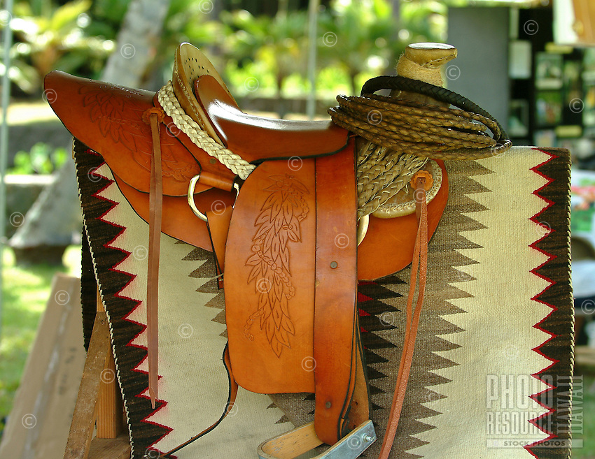 handmade Hawaiian saddle