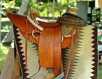 handmade Hawaiian saddle