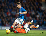Ryan Jack rounds the keeper