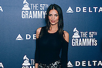 Emily Ratajkowski at Delta Air Lines Kicks Off GRAMMY Weekend With Performance By Charli XCX & DJ Set By Questlove (Photo by Tiffany Chien/Guest Of A Guest)